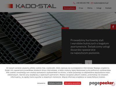 KADO-STAL sprzedaż produktów hutniczych Radomsko