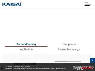 Kaisai - producent urządzeń klimatyzacyjnych
