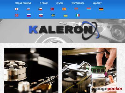 Odzyskiwanie danych i serwis komputerowy Kaleron