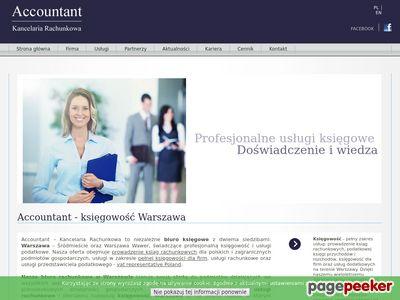 Kancelaria Rachunkowa - Accountant