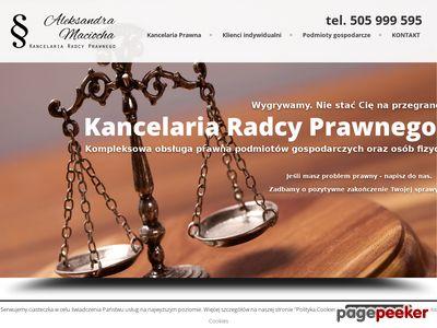 Kancelaria Radcy Prawnego Poznań
