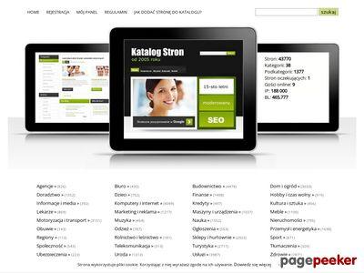 Katalog.inforam.pl - 10-cio letni i mocy katalog stron
