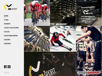 Sklep rowerowy Zielona Góra - www.km-sport.pl