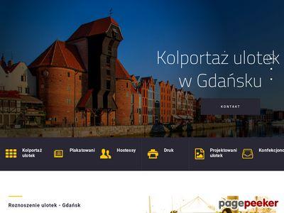Rzetelny kolportaż i plakatowanie w Gdańsku