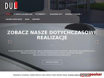Kuchnie na wymiar sława - kuchnie-dul.pl
