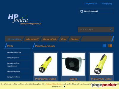 HP Fonica Sp. z o.o. - lampy ostrzegawcze