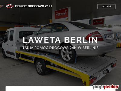 Pomoc drogowa Berlin, laweta Berlin