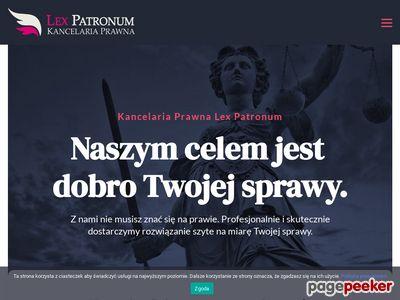 Krakowska kancelaria prawna lexpatronum.pl
