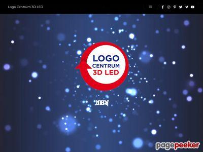 Logocentrum 3D Led - reklama świetlna