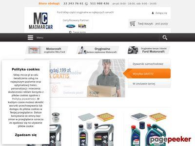 Ford części, sklep internetowy - Mccar.pl