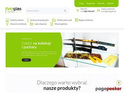 Gabloty sklepowe- mebglas.pl