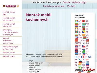 Montaż mebli Ikea Warszawa - meblunio.pl