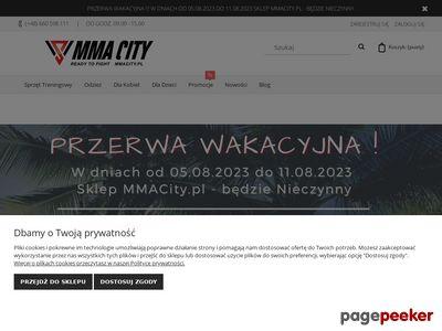 MMACITY.PL - Największy Sklep MMA w Polsce