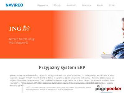 Navireo - wielomodułowy system ERP