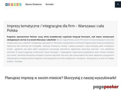 Organizacja imprez tematycznych - nTertainers.pl