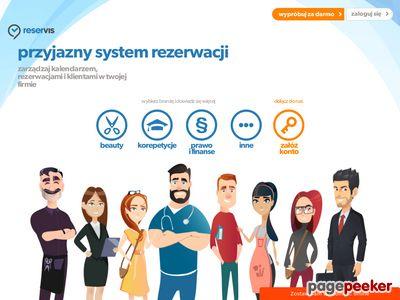 System rezerwacji online - oferta.reservis.pl