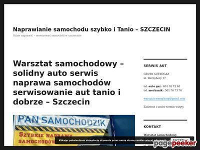Pansamochodzik - Warsztat samochodowy w Szczecinie