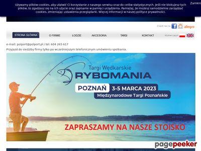 Polport - łodzie wędkarskie i akcesoria