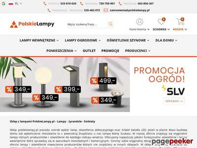 Sklep z lampami polskielampy.pl - nowoczesne oświetlenie