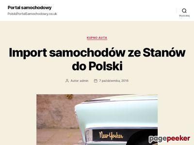 Polskie samochody w UK
