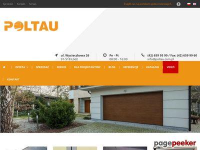 Bramy przeciwpożarowe - poltau.com.pl/drzwi-bramy-przeciwpozarowe