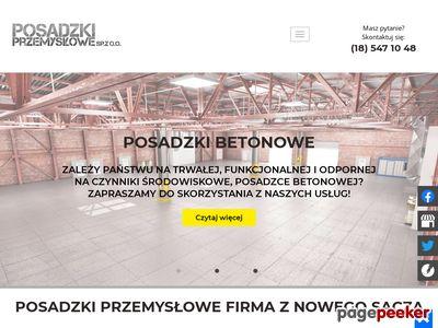 Posadzki Przemysłowe - posadzki betonowe