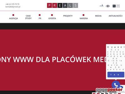 Agencja PR Warszawa - preals.pl