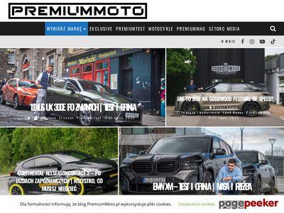 Blog motoryzacyjny PremiumMoto.pl