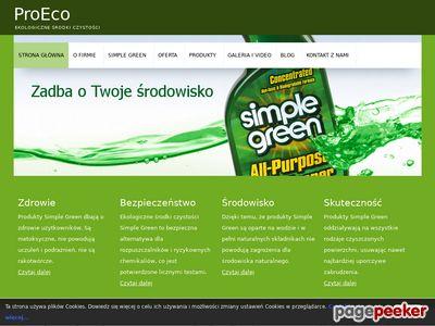 ProEco - środki czystości Simple Green