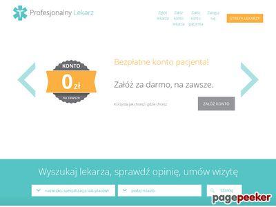 Profesjonalny lekarz - profesjonalnylekarz.pl