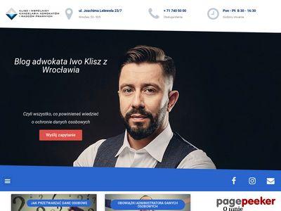 Blog Adwokata z Wrocławia