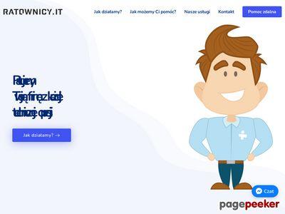 Serwis komputerów dla firm Poznań
