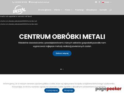 Rauhut.com.pl - cięcie metalu