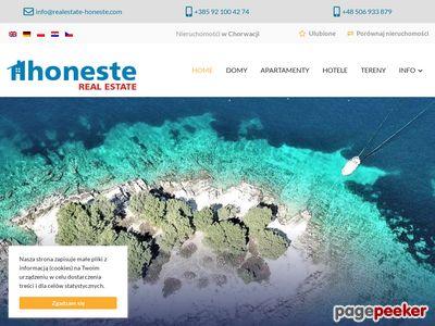 Nieruchomości Chorwacja - realestate-honeste.com