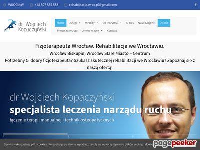 Fizjoterapeuta Wrocław