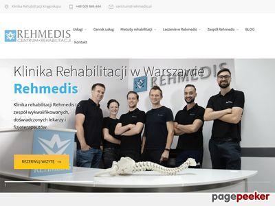 Rehmedis - leczenie kręgosłupa w Warszawie