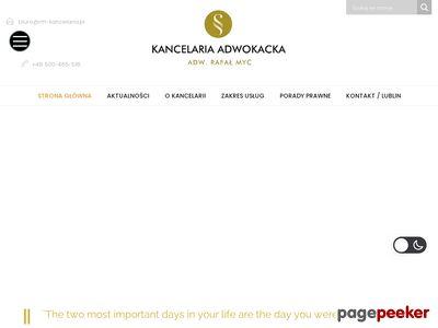 Rm-kancelaria.pl adwokat Lublin