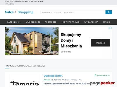 Wyprzedaże - salesandshopping.pl