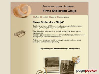 Produkcja sanek i produkcja zabawek z drewna