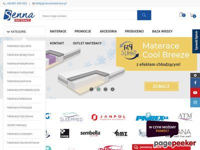 Materace online - sennamaterace.pl