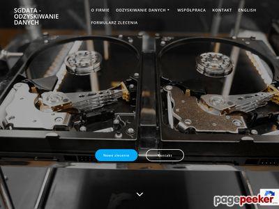 SGdata - odzyskiwanie danych Gliwice, Zabrze