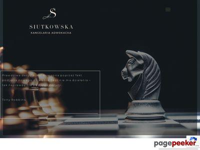 Adwokat Klaudia Siutkowska Poznań i Śrem
