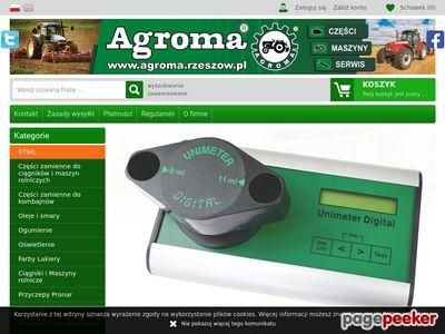 Agroma Rzeszów części do ciągników i maszyn rolniczych