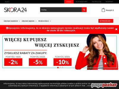 Skora24.pl - skórzane buty damskie