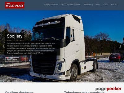 Multi-Plast - rury do samochodów ciężarowych
