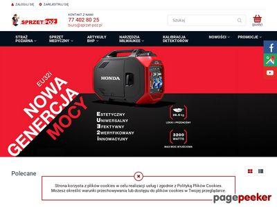Sprzęt-POŻ - rękawice strażackie
