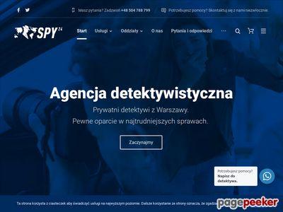 Www.spy24.pl - detektyw usługi
