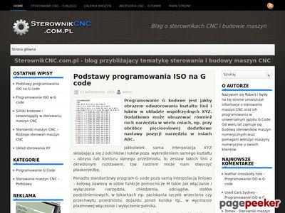 Sterownikcnc.com.pl - sterowanie maszyn CNC