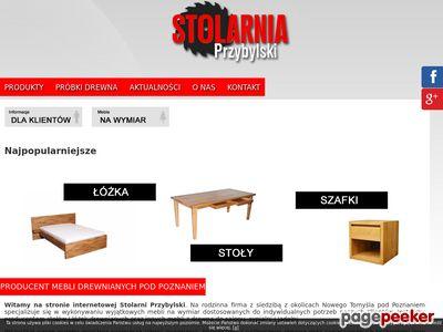 Przybylski - stoły drewniane, producent