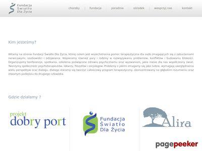 Swiatlodlazycia.org.pl - pomoc w leczeniu anoreksji